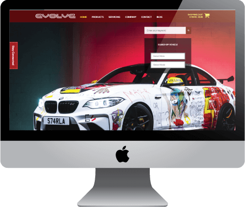 Evolve Automotive, Luton-based retailer of automotive performance upgrades