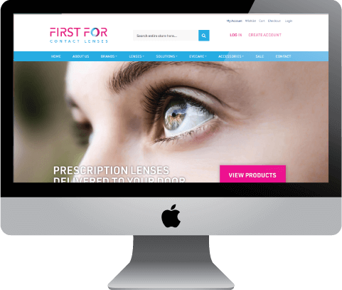 First for Contact Lenses, online contact lens and accessories retailer