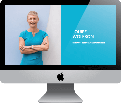 Louise Wolfson - LW Legal, London-based corporate freelance legal services