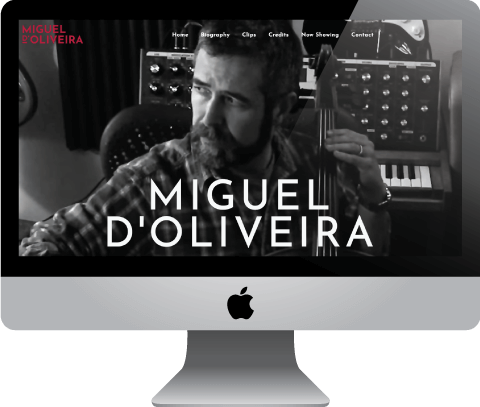 Miguel d'Oliveira, London based composer and producer