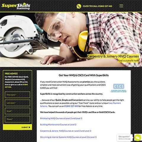 Superskills Contruction Training