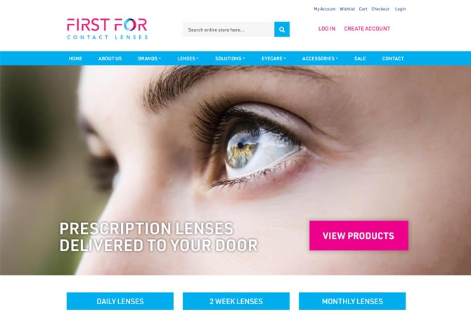 First for Contact Lenses